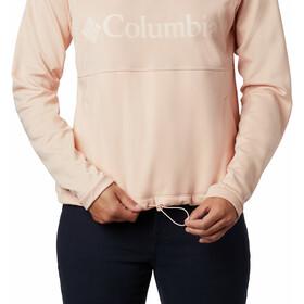 Columbia Windgates Fleece Crew Midlayer Women peach cloud